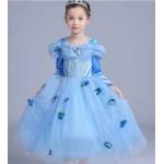 Платье Золушки с длинным рукавом, с аксессуарами
