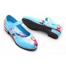 Туфли Frozen, голубые
