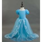 Платье Золушки - Cinderella, светло-голубое