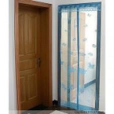 Москитная сетка-штора на магнитах для двери