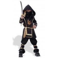 Ниндзя, костюм черный