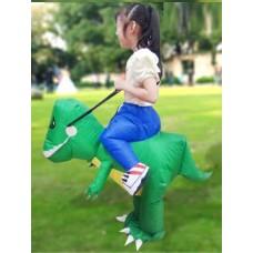 Динозаврик надувной